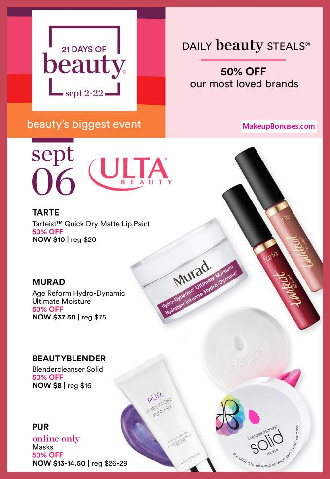 Ulta Sale - MakeupBonuses.com