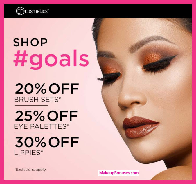BH Cosmetics Sale - MakeupBonuses.com