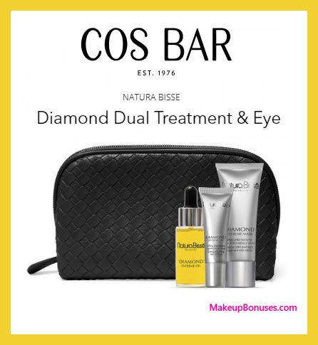 Receive a free 4-pc gift with $250 Natura Bissé purchase #CosBar
