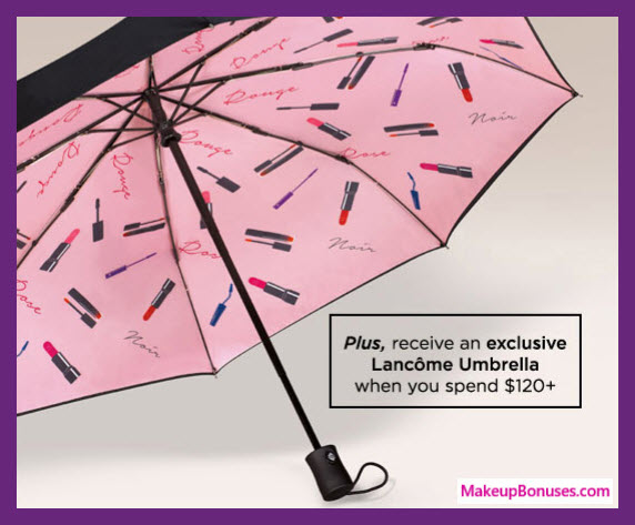 Receive your choice of 10-pc gift with $95 Lancôme purchase #lancomeUSA