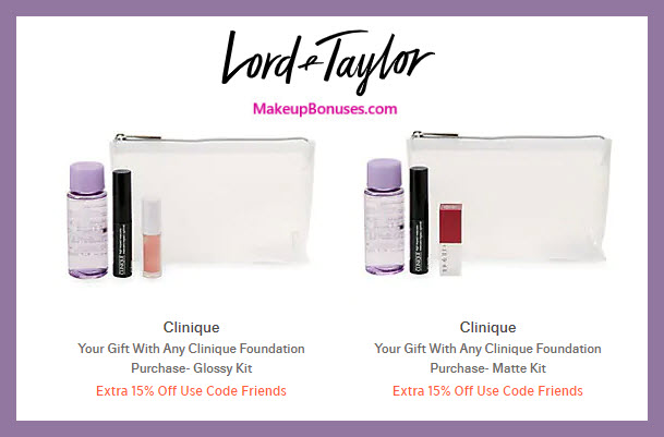 Receive a free 4-pc gift with Foundation purchase #LordAndTaylor