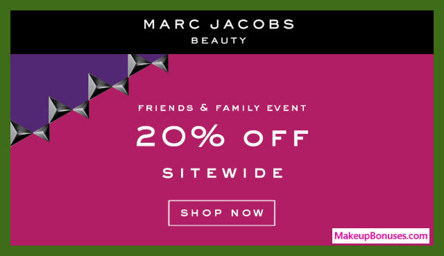 Marc Jacobs Beauty Sale - MakeupBonuses.com