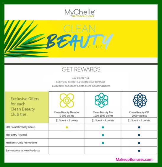 MyChelle Birthday Gift - MakeupBonuses.com #MyChelleBeauty