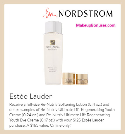 Receive a free 3-pc gift with $125 Estée Lauder purchase #nordstrom