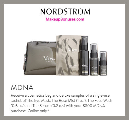Receive a free 5-pc gift with $300 MDNA Skin purchase #nordstrom