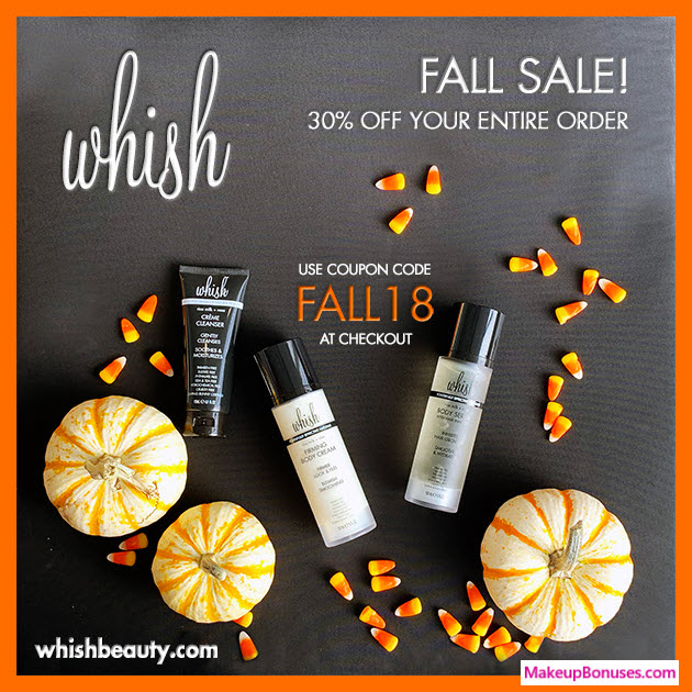 Whish Beauty Sale - MakeupBonuses.com