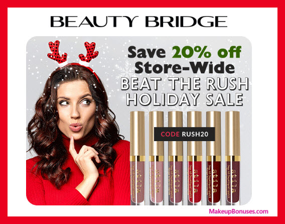 Beauty Bridge Sale - MakeupBonuses.com