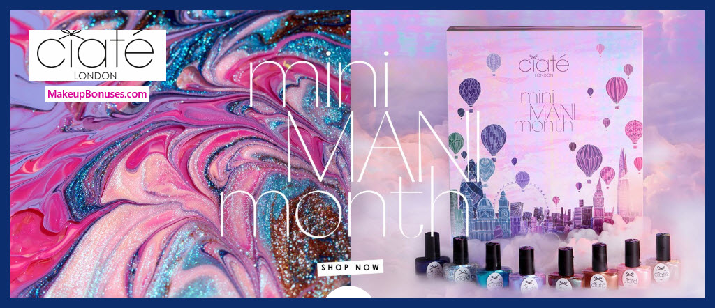 Mini Mani Month Nail Set - MakeupBonuses.com #ciatelondon #sephora