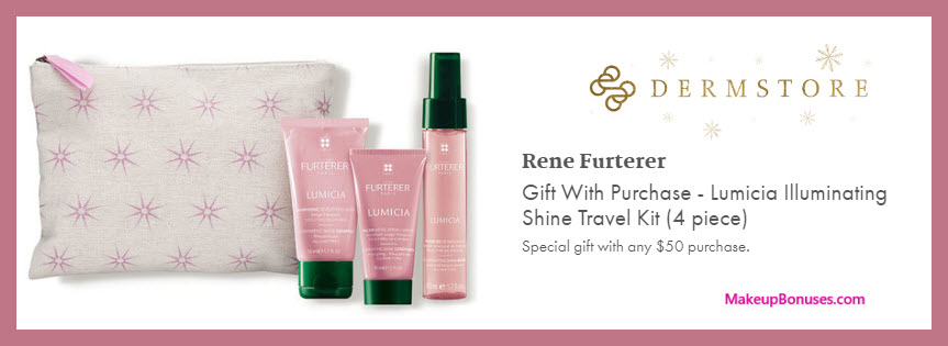 Receive a free 4-pc gift with $50 Multi-Brand purchase #Dermstore