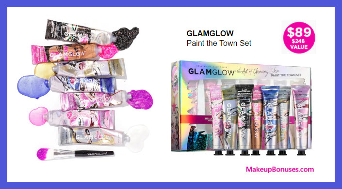 Paint the Town Set - MakeupBonuses.com #GLAMGLOWofficial #GlamGlow #GlamGlowUS #sephora