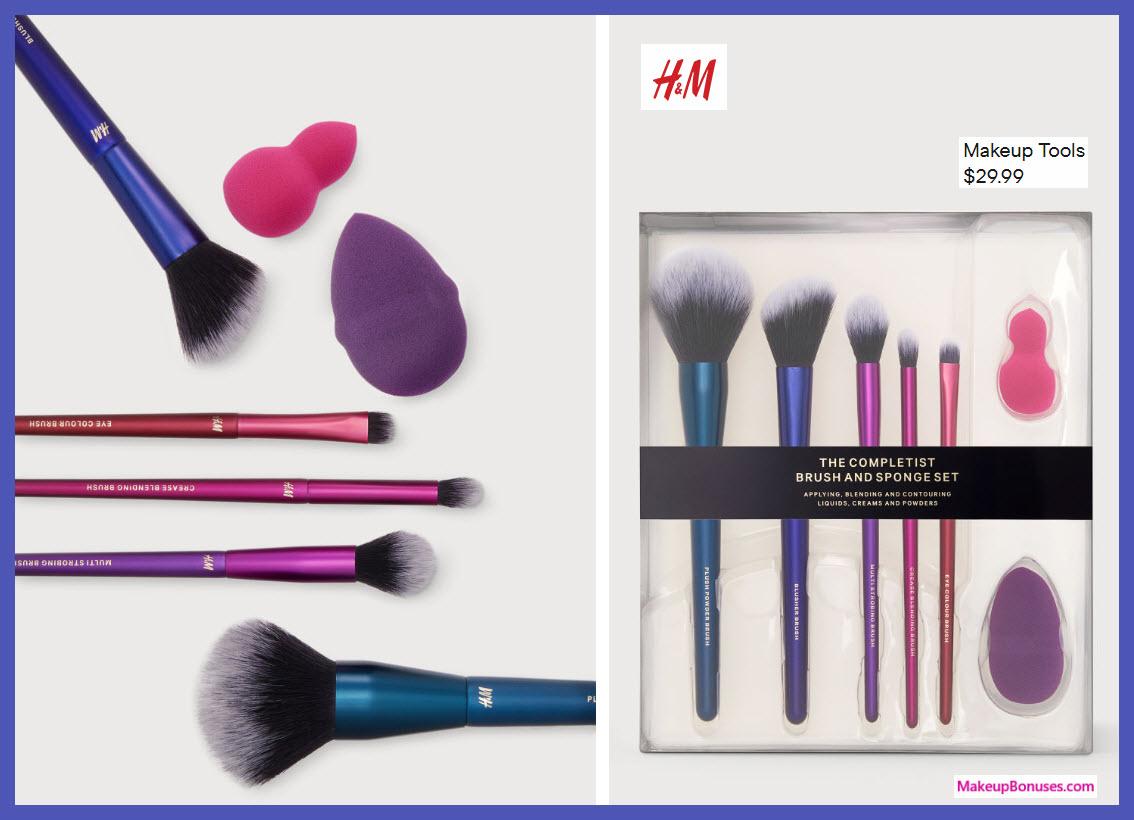 Makeup Tools - MakeupBonuses.com #Hmtheus #HM