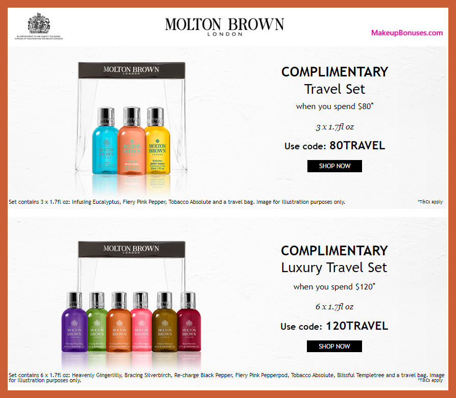 Receive a free 3-pc gift with $80 Molton Brown purchase #MoltonBrownUSA