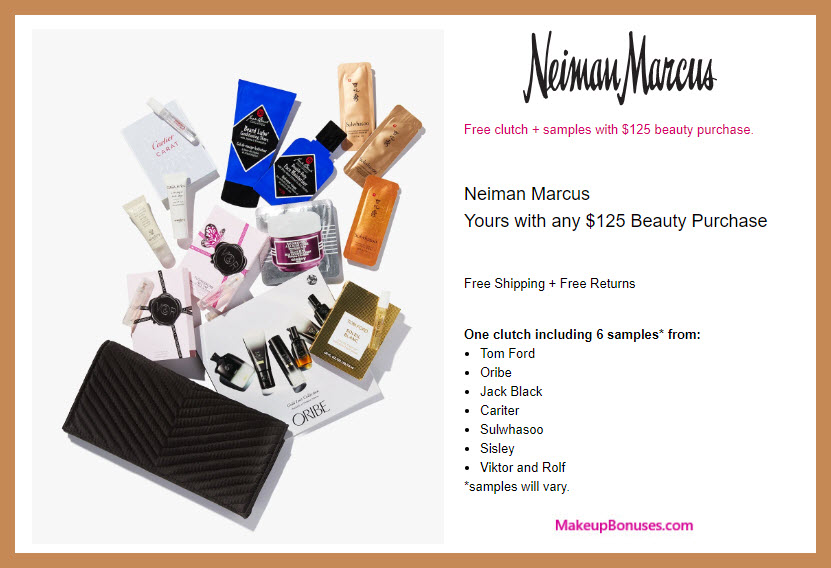 Receive a free 7-pc gift with $125 Multi-Brand purchase #neimanmarcus