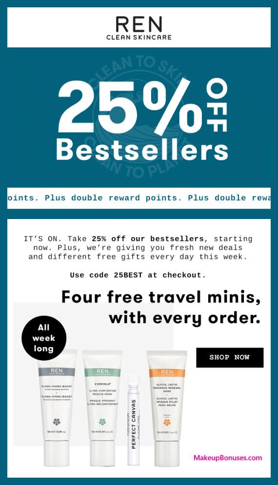 REN Skincare Sale - MakeupBonuses.com