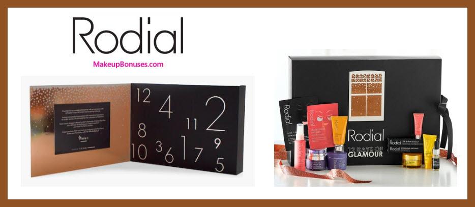 12 Days of Glamour - MakeupBonuses.com #rodialskin #rodialskincare #Olivela #OlivelaCo