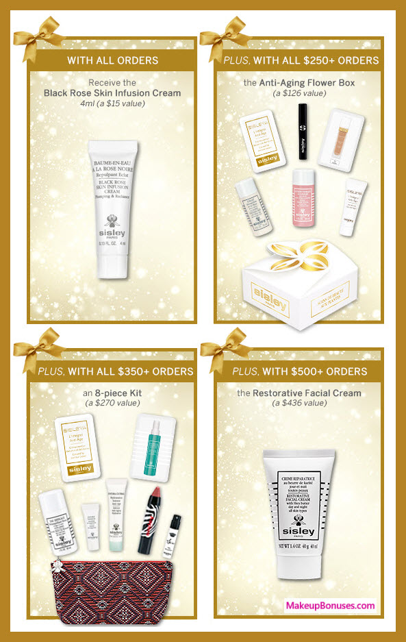 Receive a free 15-pc gift with $350 Sisley Paris purchase #SisleyParisUSA