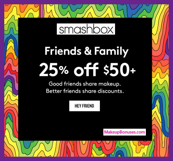 Smashbox Sale - MakeupBonuses.com