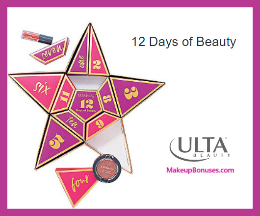 12 Days of Beauty - MakeupBonuses.com # #ultabeauty #UltaBeauty #