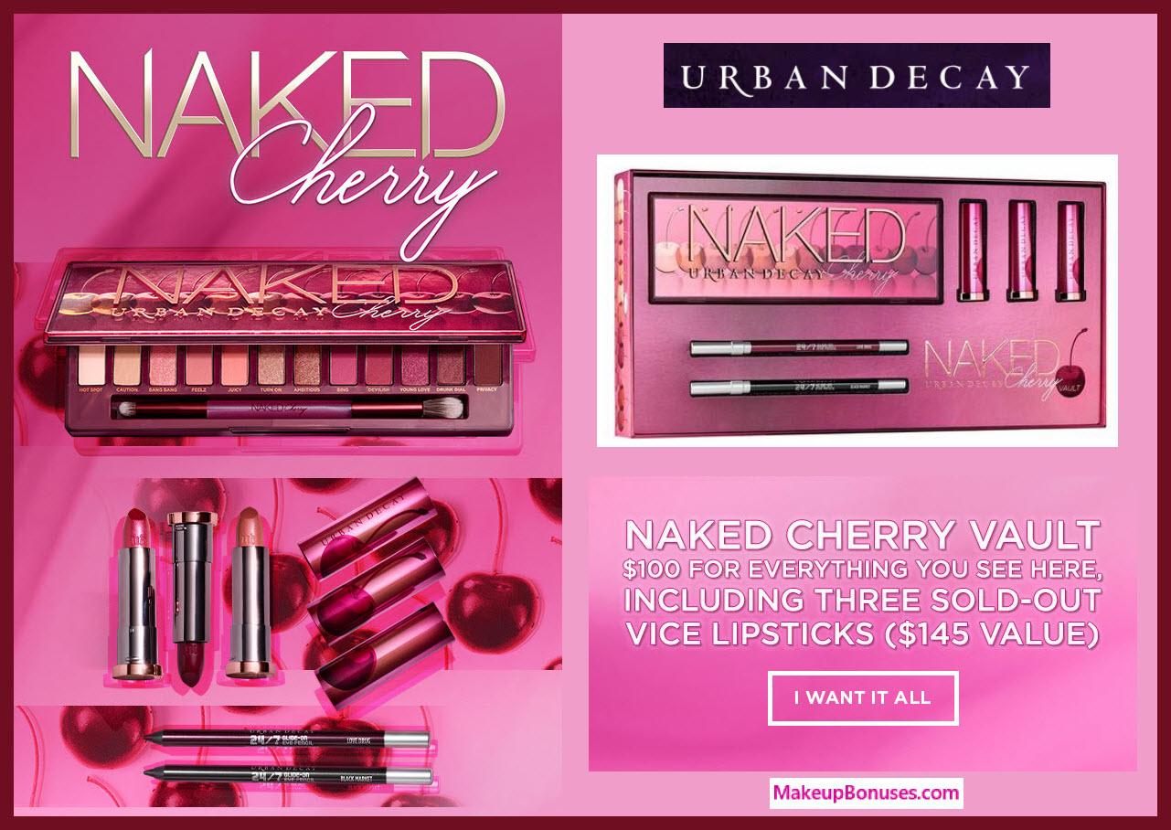 Urban Decay Naked Cherry Vault - MakeupBonuses.com #UrbanDecayCosmetics #UrbanDecay #sephora