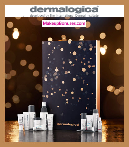 12 days to glow advent calendar - MakeupBonuses.com #Dermalogica # #