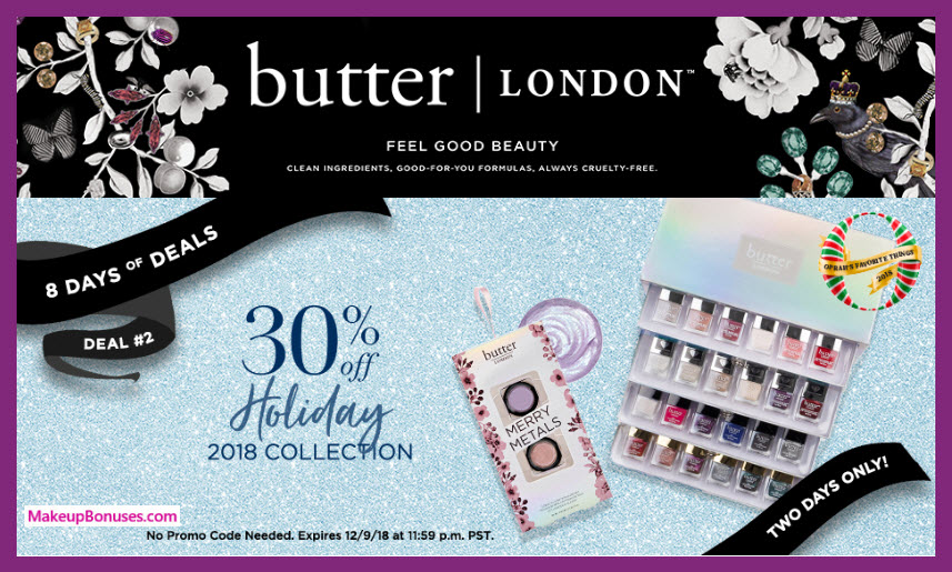 Butter London Sale - MakeupBonuses.com