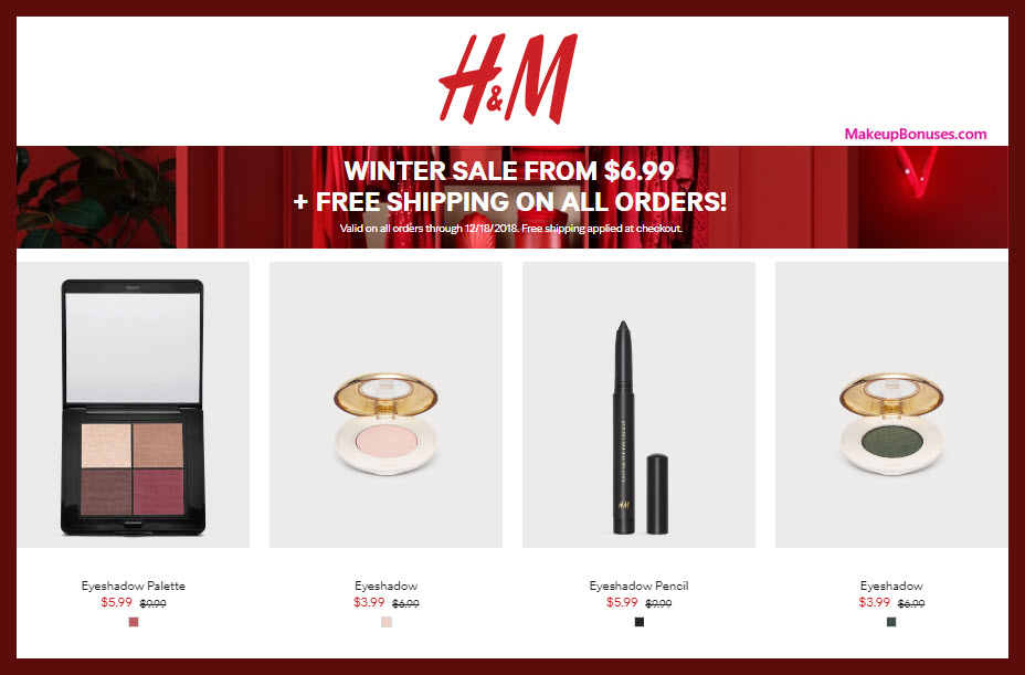 H&M Sale - MakeupBonuses.com