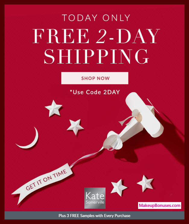 Kate Somerville Sale - MakeupBonuses.com
