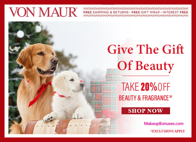 Von Maur Sale - MakeupBonuses.com