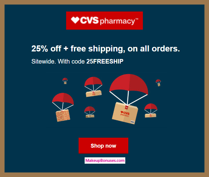 CVS pharmacy Sale - MakeupBonuses.com