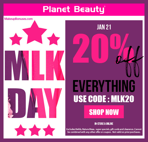 Planet Beauty Sale - MakeupBonuses.com