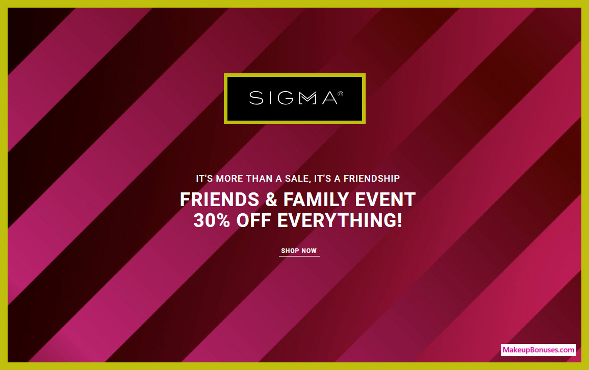 Sigma Beauty Sale - MakeupBonuses.com