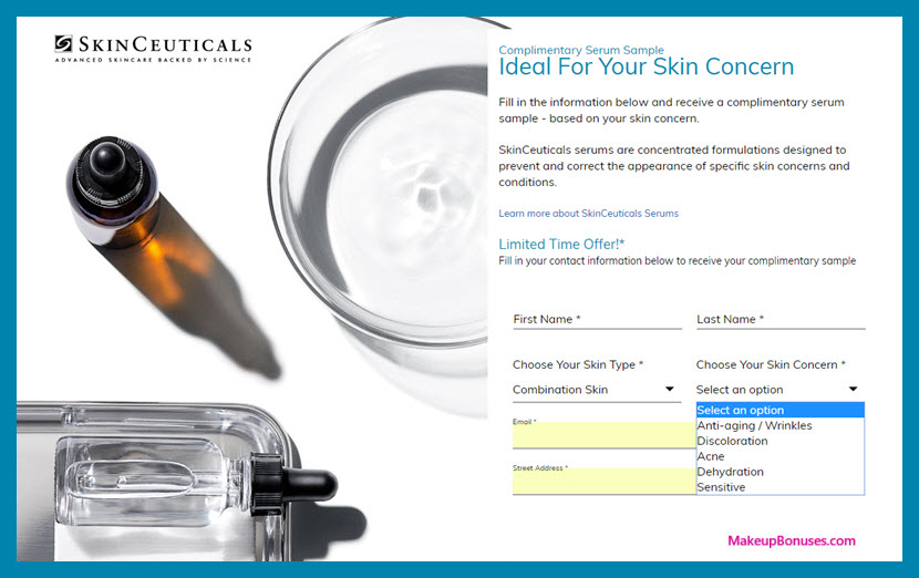 SkinCeuticals Free Sample - MakeupBonuses.com